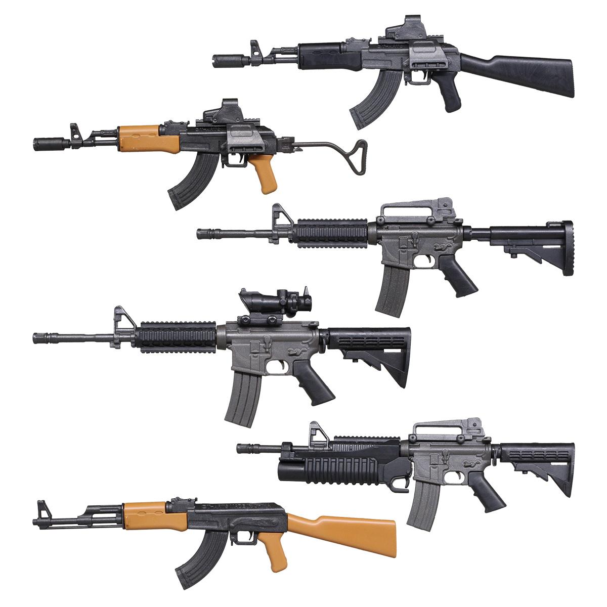 THE 銃  リアルミニ<BR>アサルトカービン&ライフル編
